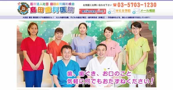 【#蒲田】島田歯科医院-保険適用の白い歯