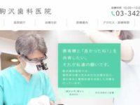 【#駒沢大学】駒沢歯科医院-保険適用の白い歯